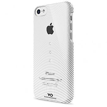 White DIAMONDS Shell iPhone5C grovhed hvid
