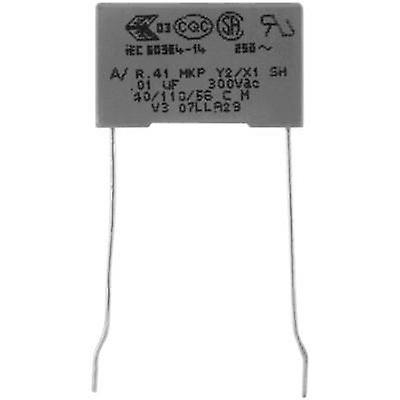 MKP suppression capacitor Radial lead 1 nF 300 V