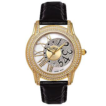 Joe Rodeo diamond ladies watch - BEVERLY gold 1.35 ctw