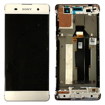 Sony display LCD complete unit with frame for Xperia XA F3111 F3112 white spare parts