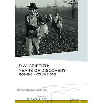 DW Griffith: År af Discovery 1 [DVD] USA import