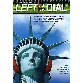 Venstre side af skiven [DVD] USA importerer