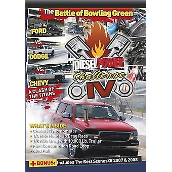 Diesel Power Challenge IV [DVD] USA importerer