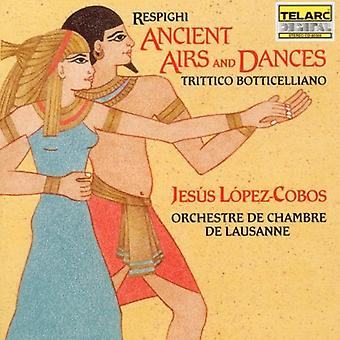 O. Respighi - Resphighi: Ancient Airs and Dances; Trittico Botticelliano [CD] USA import