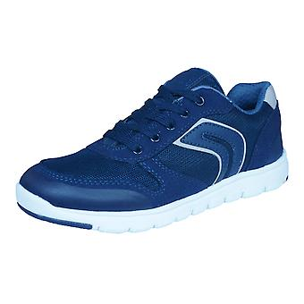 Geox-J-Xunday-B-Boys Trainer / Schuhe - Marineblau