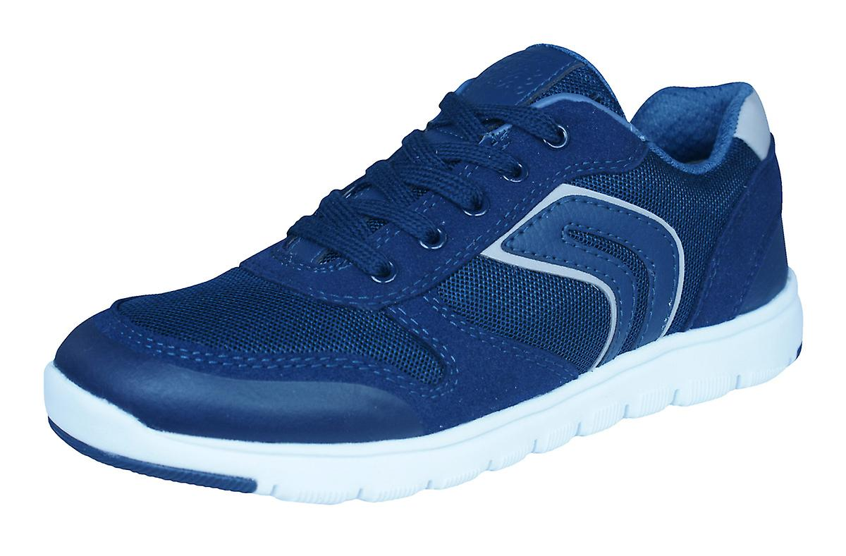 Geox J Xunday B Boys Trainers   chaussures - Navy bleu