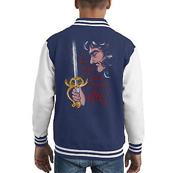 Die Braut des Prinzen Inigo Montoya Kid Varsity Jacket