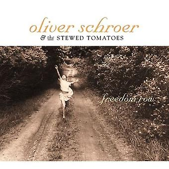 Oliver Schroer & the Stewed Tomatoes - Freedom Row [CD] USA import