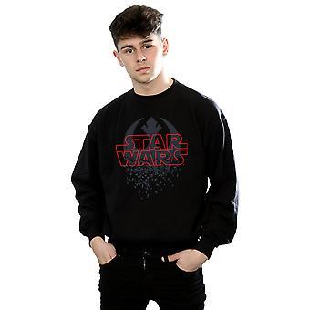 Star Wars Men's The Last Jedi Shattered Emblem Sweatshirt