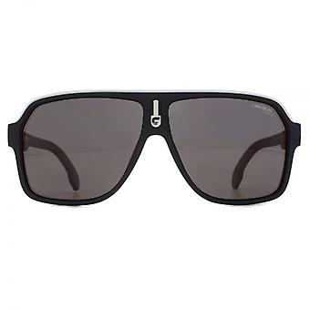 Carrera 1001 Sunglasses In Matte Black Red