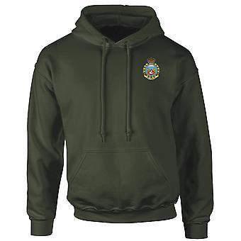 Kanadische Fallschirm-Regiment Airborne gesticktes Logo - Hoodie