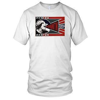 Russian Soviet Propoganda Poster Mens T Shirt