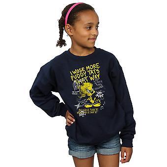Looney Tunes Girls Tweety Pie More Puddy Tats Sweatshirt