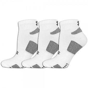 Under Armour kids socks white low cut 3 1250411-100