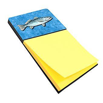 Pesce - trota Refiillable note di Sticky Note titolare o Postit nota Dispenser