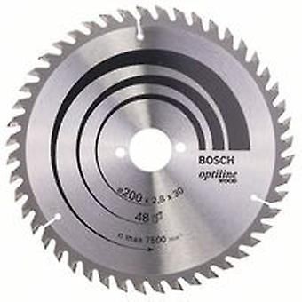 Bosch 2608640620 200 X 2,8 X 30/48 Opti Wood circulaire scie lame main