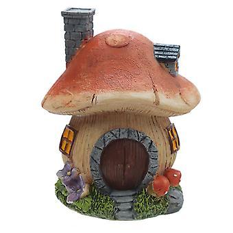 Magiczny las bajki dom grzyb