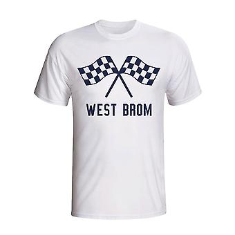 West Brom Waving Flags T-shirt (weiß) - Kids
