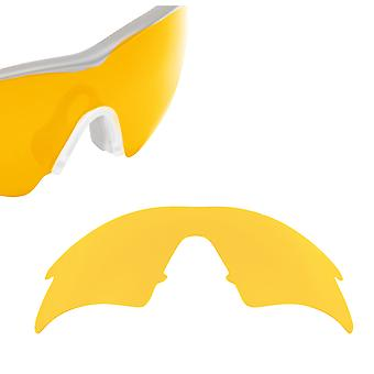 VENTED M Frame Sweep Replacement Lenses Polarized Hi Yellow by SEEK fits OAKLEY