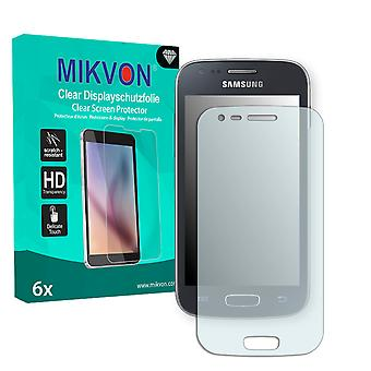 Samsung S7275 Galaxy Ace 3 LTE Screen Protector - Mikvon Clear (Retail Package with accessories)