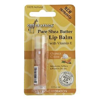 Ut av Afrika Shea Butter Lip Balm Orange krem