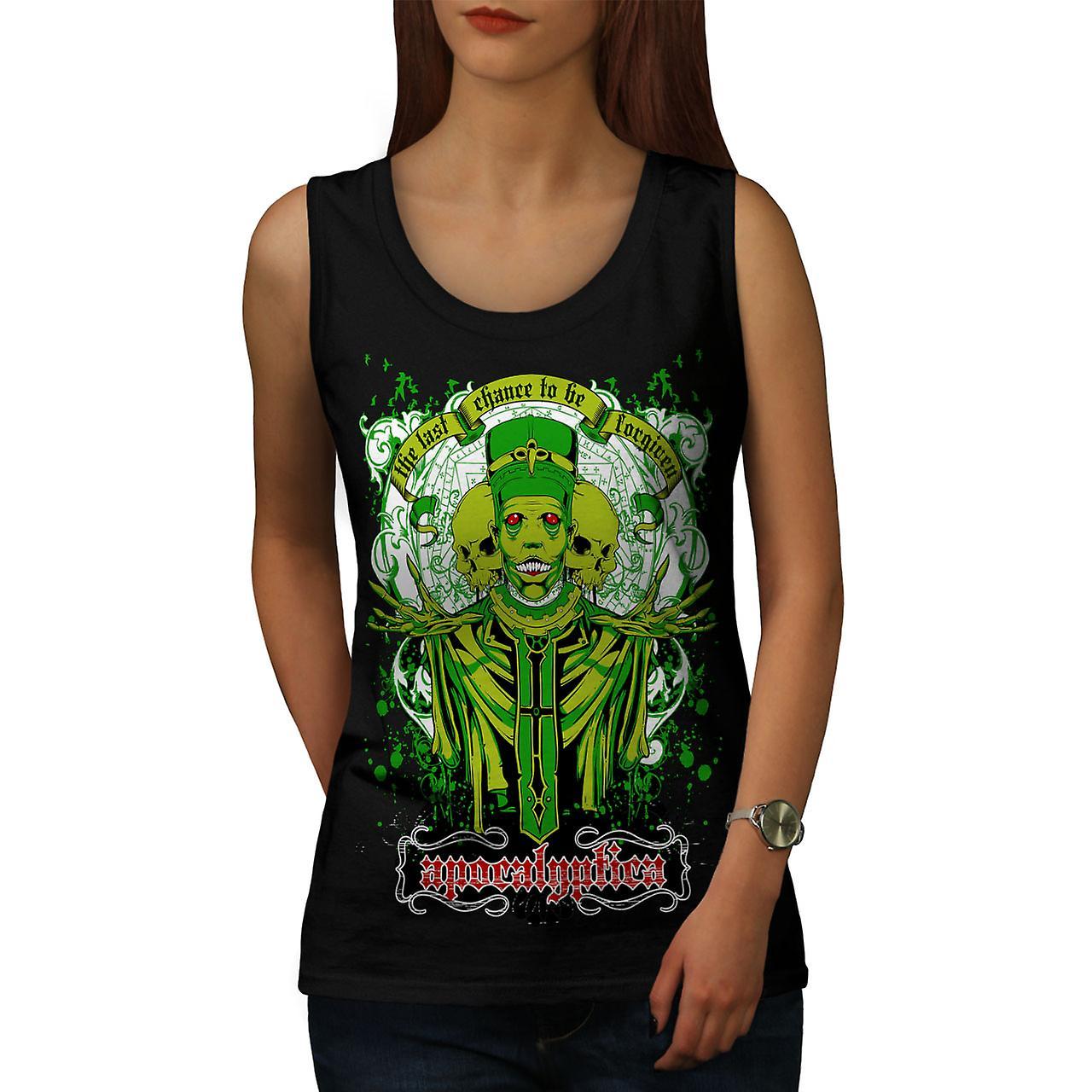 Apocalyptica morte Zombie donna Black Tank Top | Wellcoda