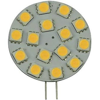 LED G4 2.6 W = 35 W Cool white (Ø) 36 mm EEC: A+ DioDor dimmable 1 pc(s)