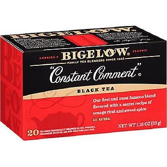 Bigelow konstant kommentar svart te