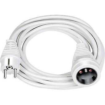Brennenstuhl 1168434 Current Cable extension White 3 m