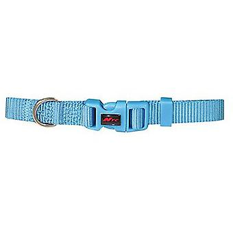 Nayeco Basic Dog Collar Blue Size S (Dogs , Collars, Leads and Harnesses , Collars)
