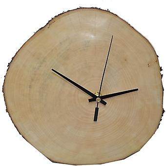 Wall clock wooden clock clock 27 x 26 cm the harmonious tree disc made in Austria watch Maple Maple Acer pseudoplatanum gift gift idea Woodart decoration decorative wood decoration