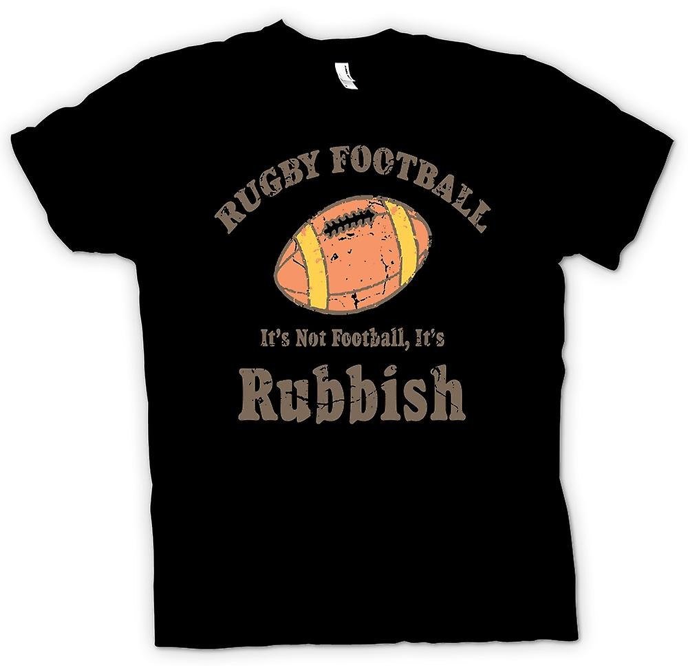 Barn T-shirt - Rugby Football skräp - rolig