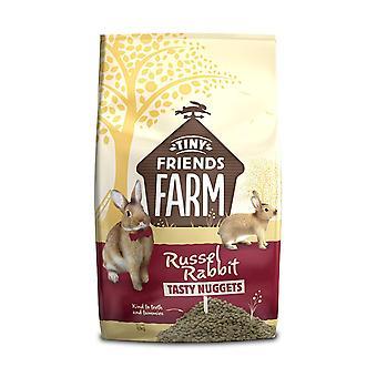 Supremi piccoli amici fattoria Russel Rabbit pepite gustoso cibo