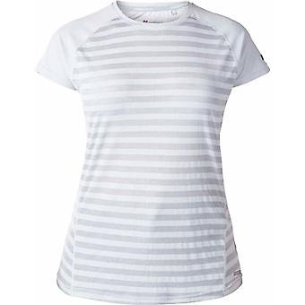 Berghaus Women's Stripe SS Crew Baselayer - Micro Chip