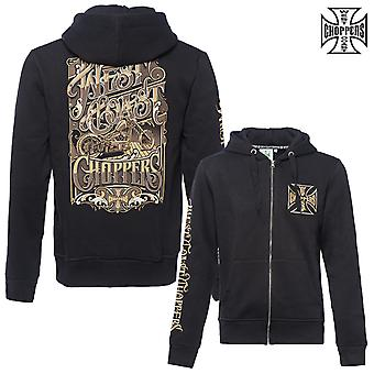 West Coast choppers Hoody Zip lock-up