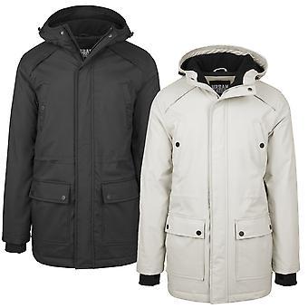 Urban classics jacket hooded heavy Thumbhole