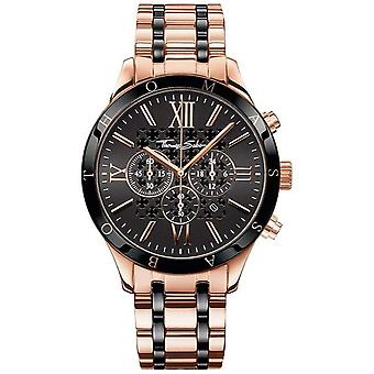 Thomas Sabo Mens Rebel Urban Rose Gold Tone Chronograph WA0187-267-203-43