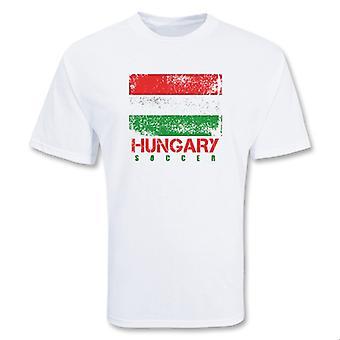Ungarn Soccer t-skjorte