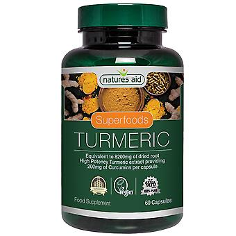 Natures Aid Turmeric 60 Vcaps