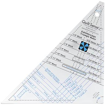 Quilt Sense Kaleidoscope Triangle Ruler-7 Sizes