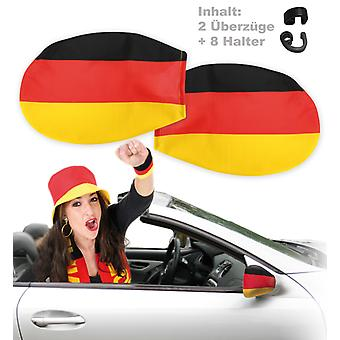 Car mirror topcoat Germany fan article