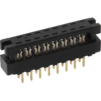 Edge connector (receptacle) LPV2 S26 Total number of pins 26 No. of rows 2 econ connect 1 pc(s)