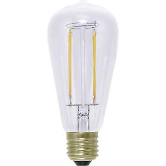 Segula LED E27 Bulged 6 W = 40 W Warm white (Ø x L) 62 mm x 142 mm EEC: A+ dimmable, Filament 1 pc(s)