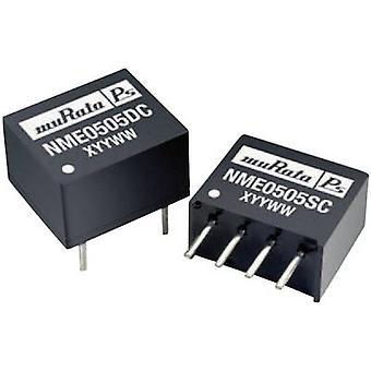 Murata Power Solutions NME0509DC DC/DC converter (print) 5 Vdc 9 Vdc 111 mA 1 W No. of outputs: 1 x