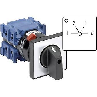 Kraus & Naimer CH10 A251-600 FT2-Uniselector 20 a 3 x 60 ° grå, svart 1 eller flere PCer
