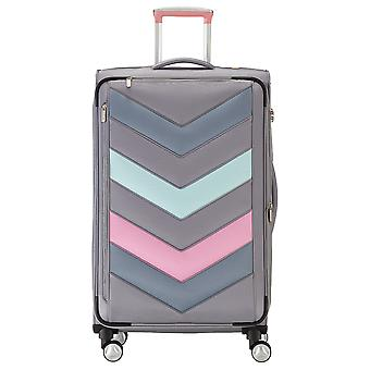 Titanium Spotlight blød blød bagage 4 hjulet trolley sag L 77 cm 384404-04