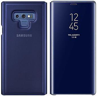 Samsung flip Pocket clear view standing cover EF ZN960CLEGWW for Galaxy note 9 N960F Blau