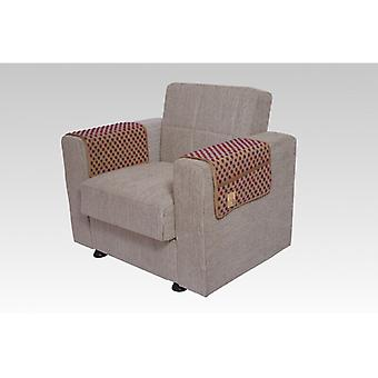 Armrest saver seat saver BEIGE pair with pockets