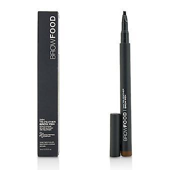 Lashfood BrowFood 24H Tri fjer pande Pen - mørk Brunette - 1ml/0,03 oz