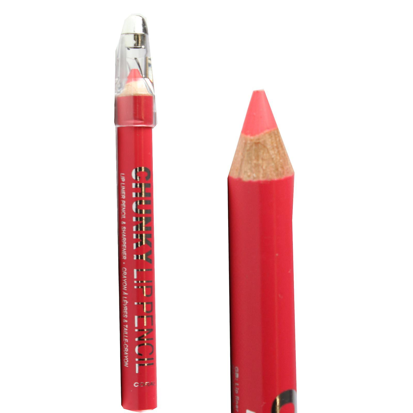 Lip Thick Pencil Technic Chunky Liner Coral nwO0Pk